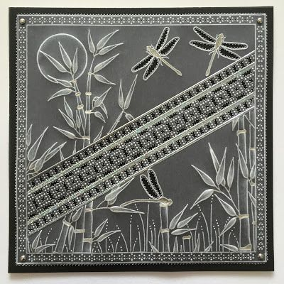 Tina Cox: Bamboo and Perforated Border Plates