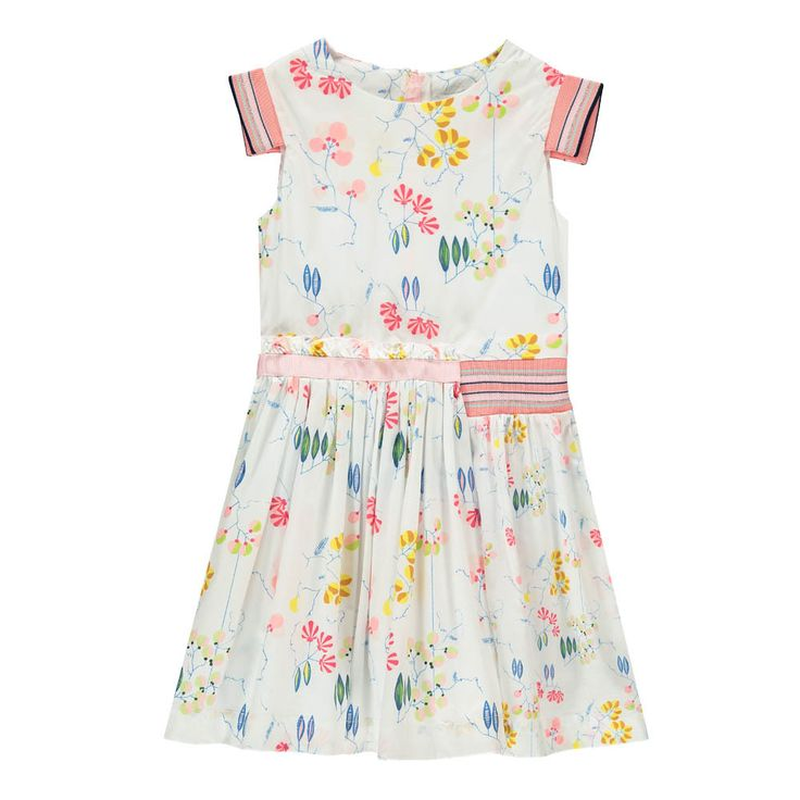 Blink Of An Eye Floral Asymetric Dress-product