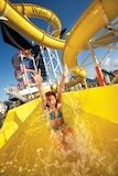 Carnival Triumph Pool, Water Slide and Sunbathing --- checking it out for Jo