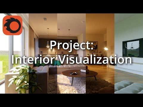 Complete Project - Interior Visualization 2/6: Initial setup - YouTube