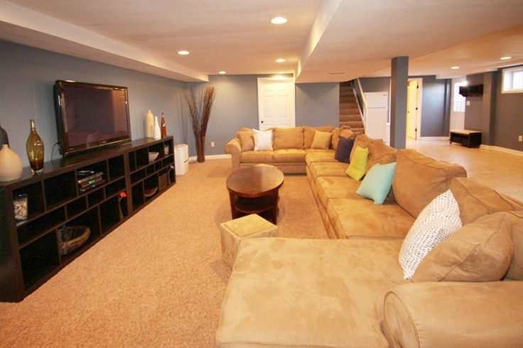 Now this is a big couch perfect for basement tv room for Basement room