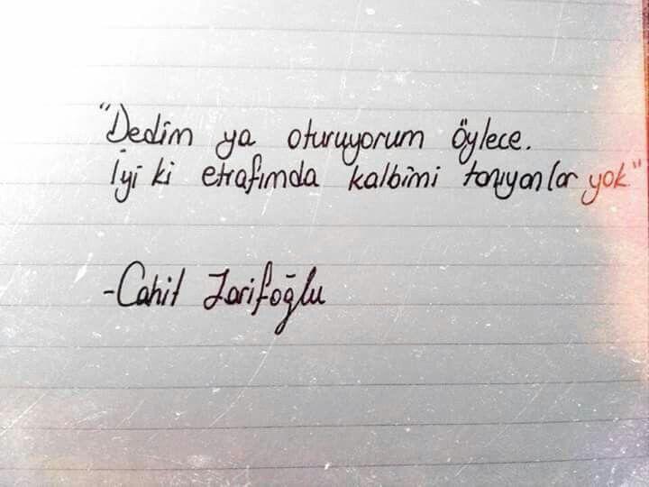 İyi ki. #zarifoğlu #anlamlı #sözler