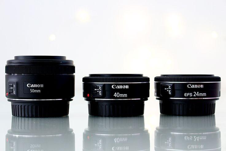 Comparação do foco STM das lentes Canon