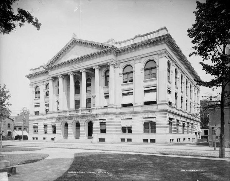 Rensselaer County courthouse, 1905, Troy, N.Y.