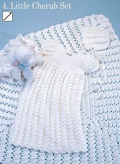 Craft Passions: Little Cherub Set (Blanket).# free # crochet pattern link here