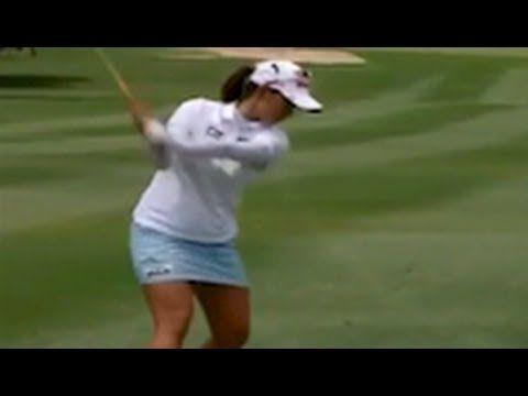 Chella Choi choice 1 STEP golf swing