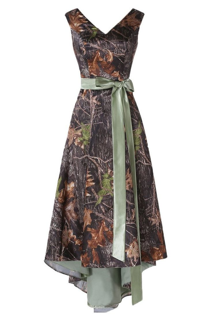 17 best ideas about camo bridesmaid dresses on pinterest for Camo ribbon for wedding dress