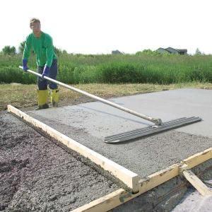 Form and Pour a Concrete Slab: Form And Pour A Concrete Slab, Backyard Patio, Concrete Patio Diy, Pour Concrete, Diy Concrete Patio, The Families Handyman, Concrete Backyard, Diy Pour Patio Concrete, Big Mistakes