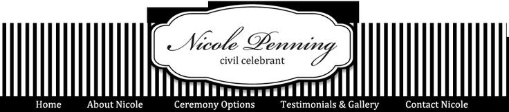 Nicole Penning - Celebrant