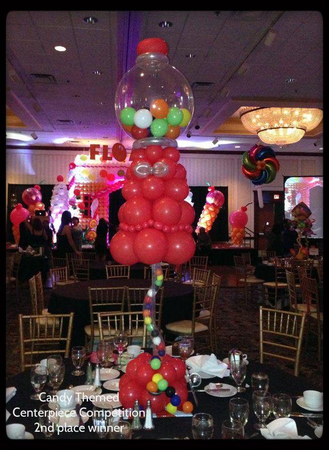 candy themed centerpiece Balloon 33 best