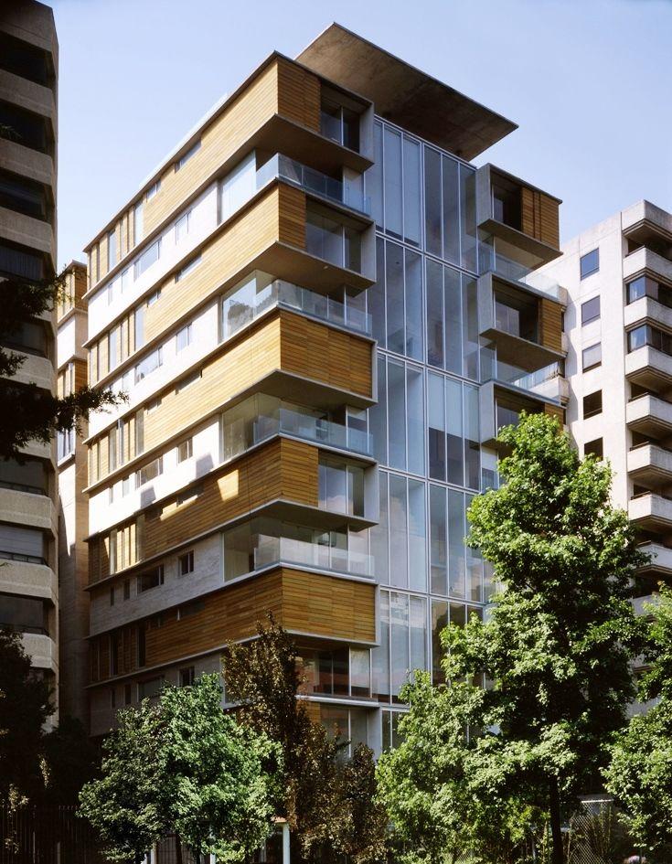 Las 25 mejores ideas sobre fachadas de edificios modernos for Edificios modernos de departamentos