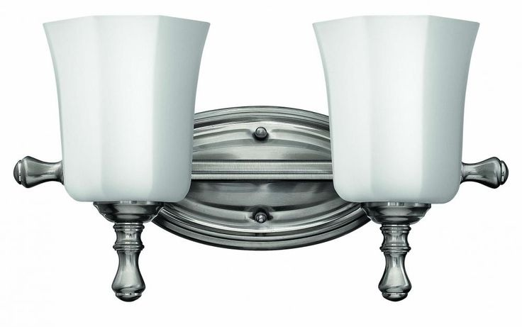 Traditional 2 Light Nickle Vanity Light Is Brought To You At A Great Deal  By Hinkley. Bath VanitiesBathroom FixturesBrushed ...
