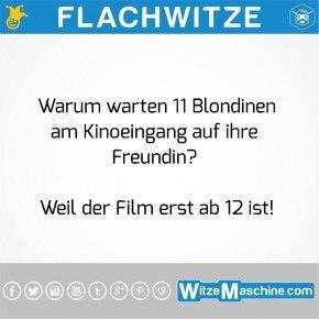 Flachwitze - 11 dumme Blondinen im Kino