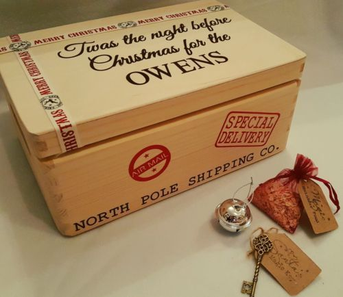 Personalised Christmas eve box, night before Christmas gift Santa s magic key | eBay                                                                                                                                                                                 More