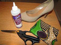 12 formas -diy - customização de sapato