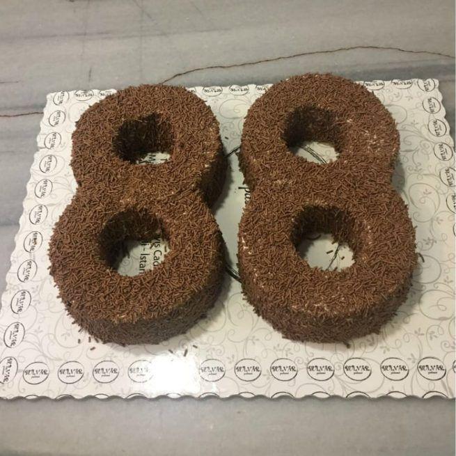 Rakamlı Doğum Günü Pastası • 1 Dakikada Sipariş Ver! • Bulvar Pastanesi    #pasta #cake #butikpasta