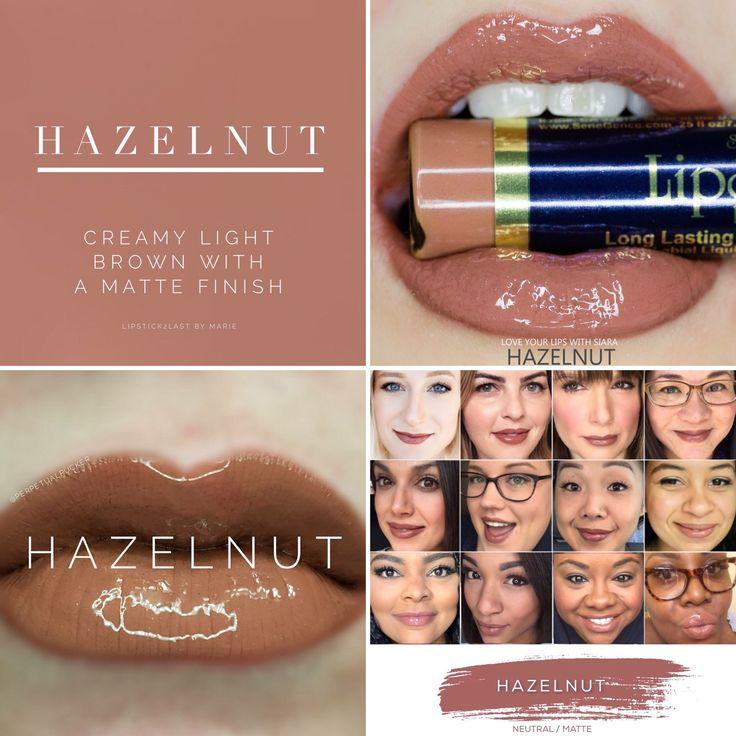 Hazelnut LipSense LipSense selfies and lips