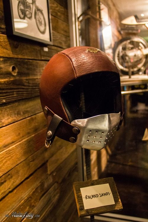 Helmet Design by Roland Sands. CLICK the PICTURE or check out my BLOG for more: http://automobilevehiclequotes.tumblr.com/#1506280800