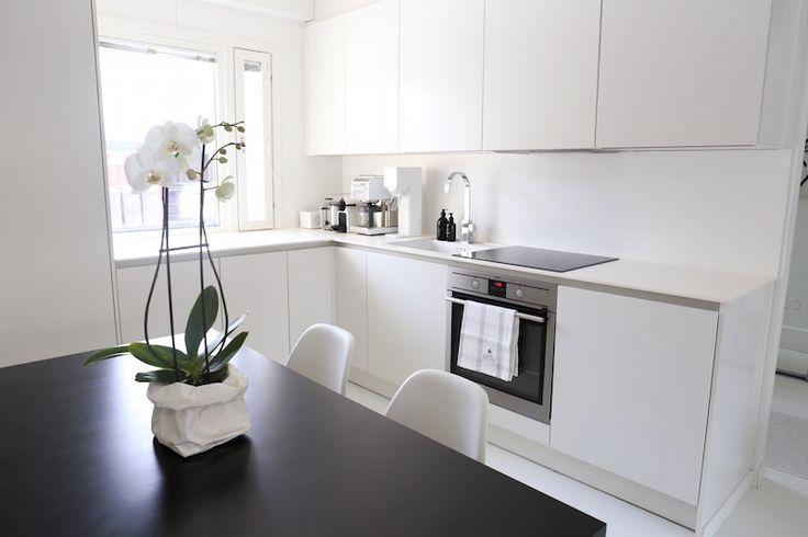 Homevialaura | modern white kitchen after renovation | HTH | VH7