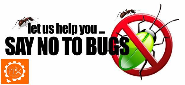 Say no to bugs with our pest control service.