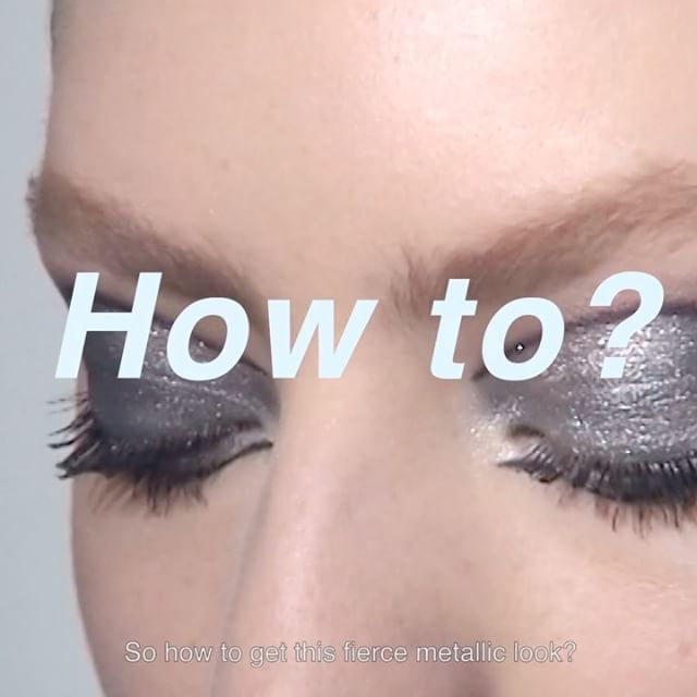 How To by @peterphilipsmakeup: want to rock a @diormakeup fierce metallic look this summer? It all starts with the #eyes: - Diorshow PumpNVolume Mascara - Diorshow Pro Liner in Pro Black 092 - 5 Couleurs Eye Palette in Provoke 067 - Dior Addict Lip Maximizer 001 #diormakeup #diorshowbackstage #backstagepros #makeuptutorial  via DIOR OFFICIAL INSTAGRAM - Celebrity  Fashion  Haute Couture  Advertising  Culture  Beauty  Editorial Photography  Magazine Covers  Supermodels  Runway Models