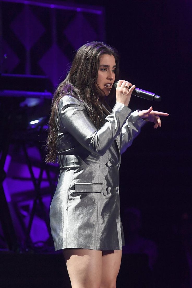 Lauren Jauregui perform onstage during Power 96.1's Jingle Ball 2017 Presented by Capital One at Philips Arena on December 15, 2017 in Atlanta, Georgia.