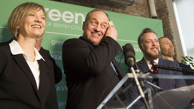 Mike Smyth: Could Andrew Weaver throw B.C. election for a loop?