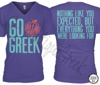 These would be super cute panhellenic recruitment shirts!