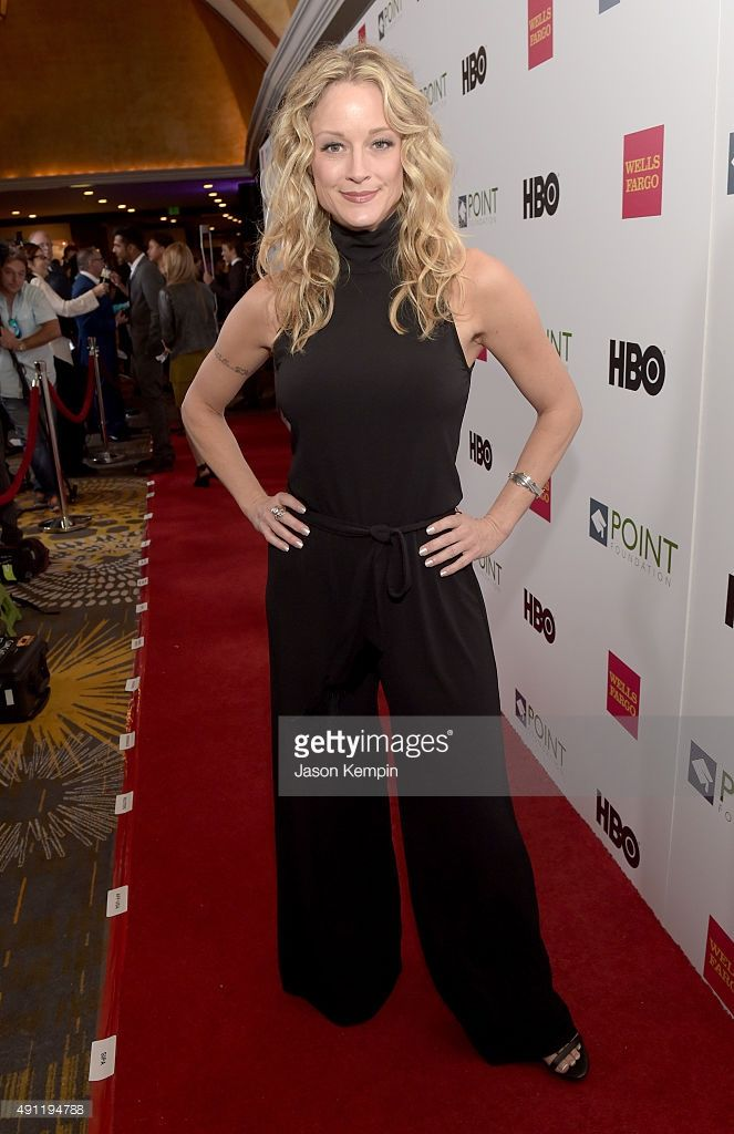 Actress Teri Polo attends the Point Foundation's Annual Voices On Point Gala at the Hyatt Regency Century Plaza on October 3, 2015 in Los Angeles, California.
