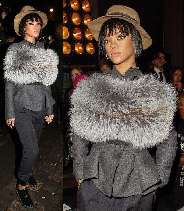 Rihanna Channels Tomboy Chic in Lanvin, Steal Her Style!