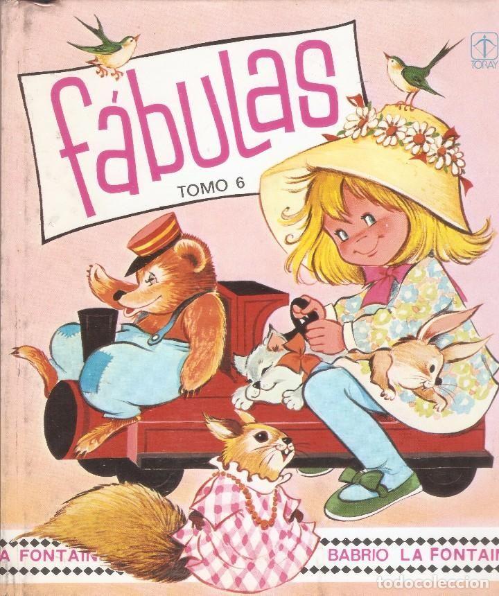FÁBULAS - Tomo 6 - Con ilustraciones de MARÍA PASCUAL - Editorial TORAY - 1983. - Foto 1