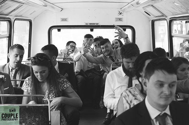 next stop, the wedding venue! Real Wedding by Couple Photography