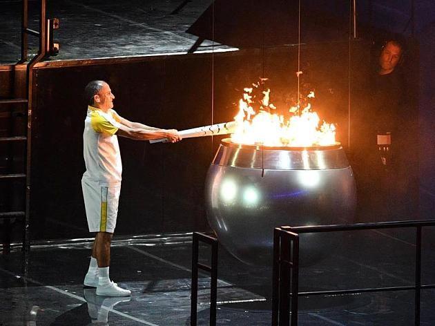 Eröffnung der Olympischen Spiele in Rio 2016