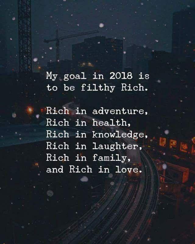 Filthy rich.