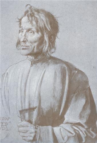 Portrait of an architect  - Albrecht Durer
