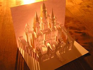 ポップアップカード Castle