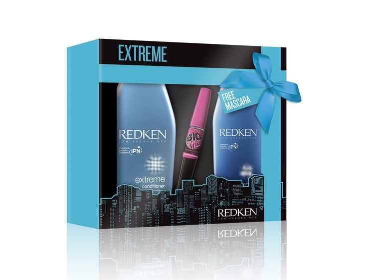 Redken Christmas 2014 Extreme Free Mascara Gift Set.