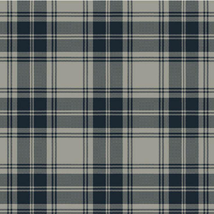 Douglas Grey Tartan Carpet