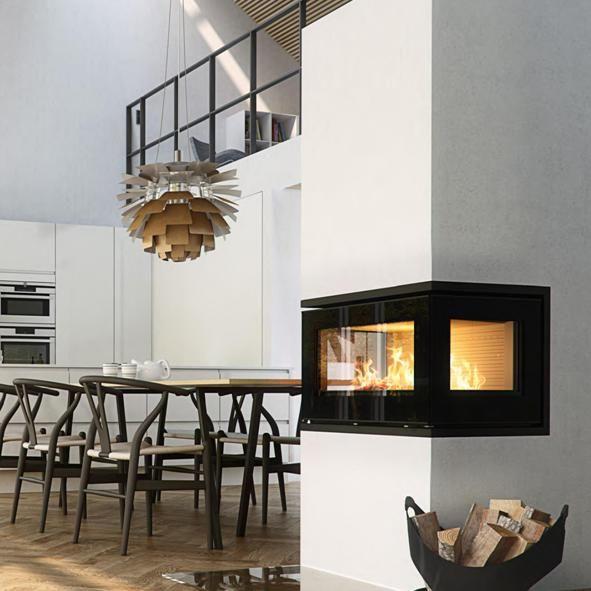 Rais Stoves 500 3 6kw Insert Wood Burning Three Sided Firebox Maison Pinterest Stove
