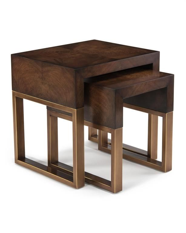 John Richard Chambery Nesting Tables In 2020 Furniture Design Living Room Living Room Table Table Centerpieces Diy