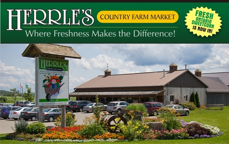 Herrles -- great market, amazing corn, and pick your own strawberries in the summer.