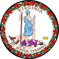TIL that Sic semper tyrannis the words John Wilkes Booth yelled after shooting Abraham Lincoln were adopted as the Virginia State Motto.