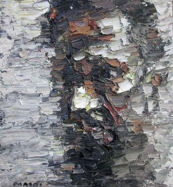 "Saatchi Online Artist Masri Hayssam; Painting, ""self #99"" #art"