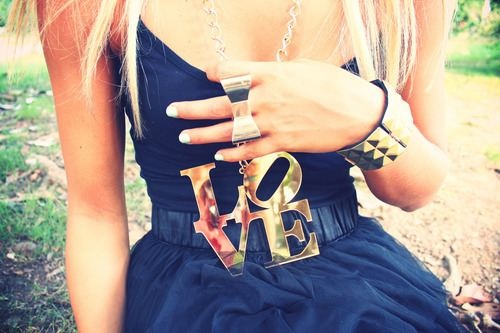 ♥ so cute: Fashion, Style, Clothes, Dream Closet, Dress, Love Necklace, Jewelry, Necklaces, Accessories