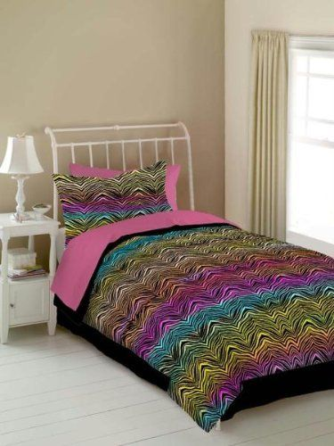 RAINBOW ZEBRA 457593 RAINBOW ZEBRA COMFORTER SET - RAINBOW by RAINBOW ZEBRA. $42.07. Manufactured to the Highest Quality Available.. Great Gift Idea.. Design is stylish and innovative. Satisfaction Ensured.. Comforter set contains a comforter, bed ruffle and two shams. RAINBOW ZEBRA COMFORTER SET. Color: RAINBOW. Size: FULL. Save 26% Off!