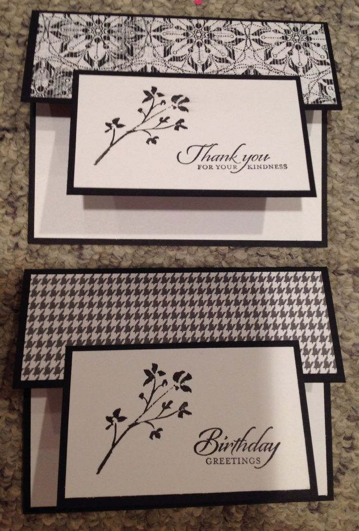 456 Best Cards Black And White Images On Pinterest Card Crafts