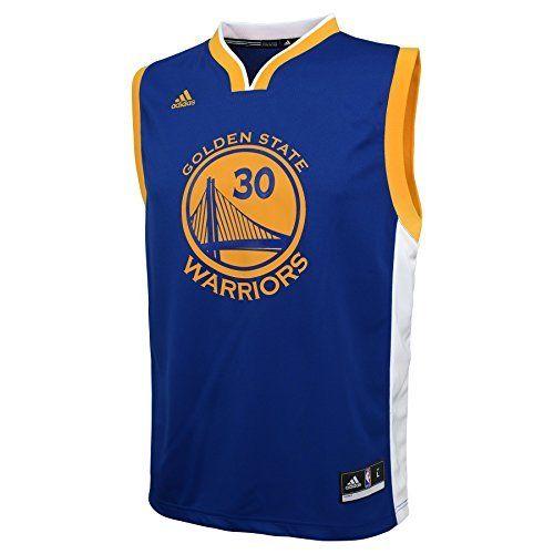 455fdc5e1faa NBA Youth 8-20 Golden State Warriors Curry Replica Road Jersey-Blue-XL(18)  - Men