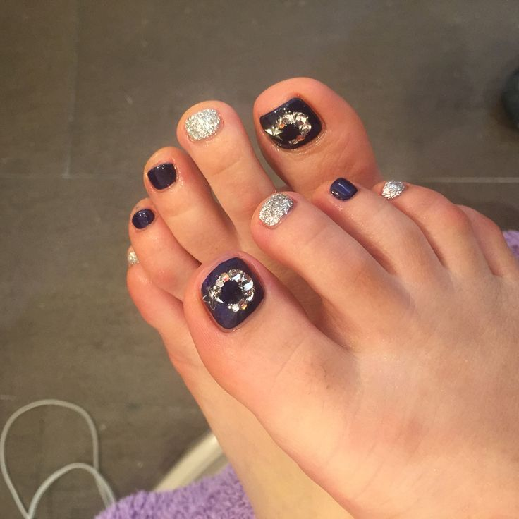 2015 May midnight silver moon in Meglio nail