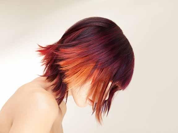 like fire: a touch of blonde & orange: Hair Ideas, Hairstyles, Hair Colors, Colored Hair, Hair Styles, Makeup, Haircolors, Beauty, Hair Colour