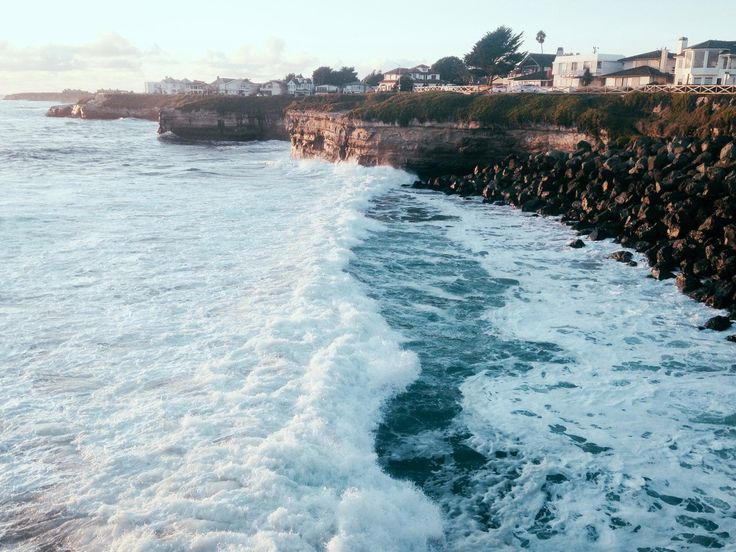 Santa Cruz. Cliff